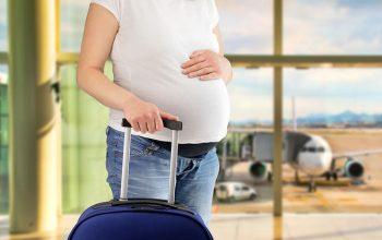 Prendre l'avion sereinement en étant enceinte